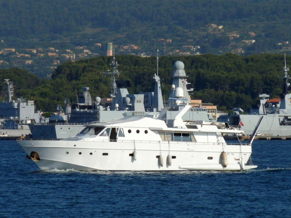 ZACA en petite rade de Toulon le 09 juin 2015