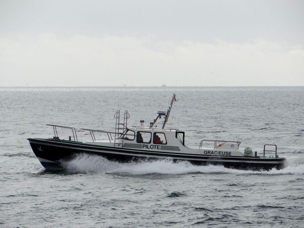GRACIEUSE , pilotine du port de Fos sur mer et de port de Bouc , le 02 mars 2016