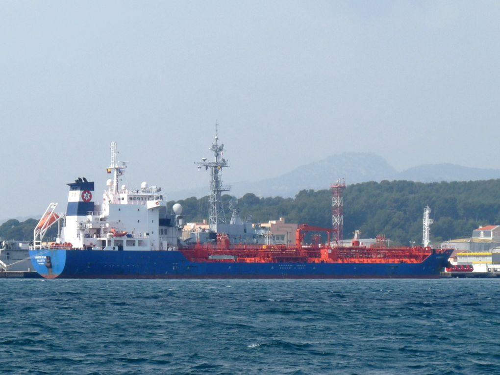 GANGES STAR , a quai dans la base marine de Toulon le 13 mars 2015