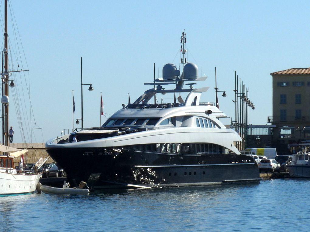 BLISS , dans le port et golfe de Saint Tropez le 21 septembre 2015