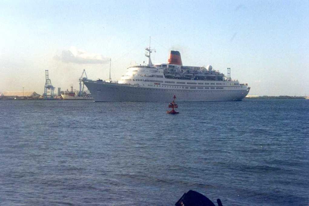 VISTAFJORD , arrivant à Pointe a Pitre , Guadeloupe