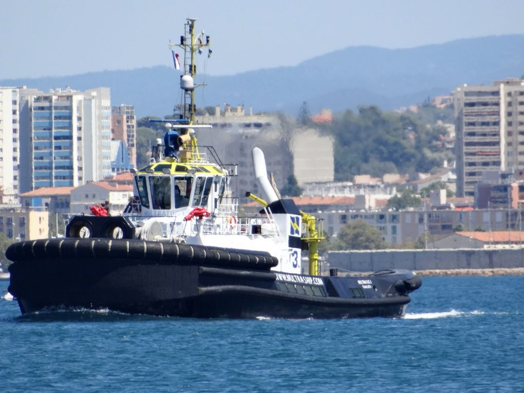 MULTRATUG 3 , arrivant au port de la Seyne sur Mer le 15 septembre 2016