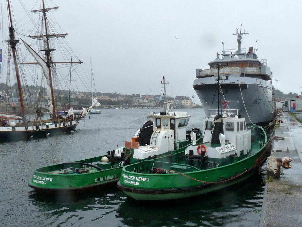 CDT VAN DER KEMP  I , remorqueur du port de Concarneau le 10 septembre 2016