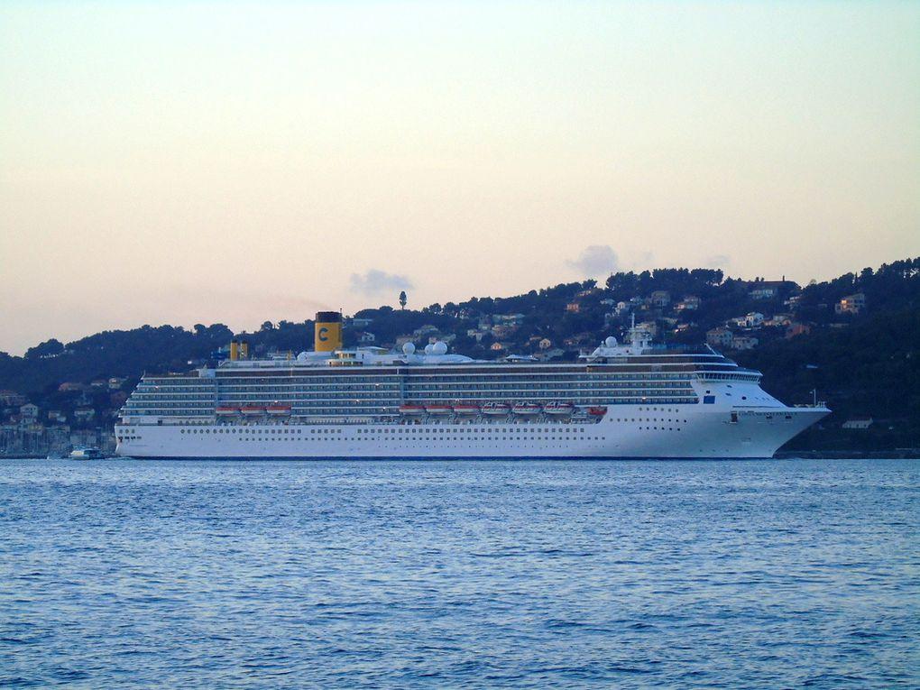 COSTA MEDITERRANNEA , arrivant à Toulon la Seyne sur Mer le  le 04 janvier 2017