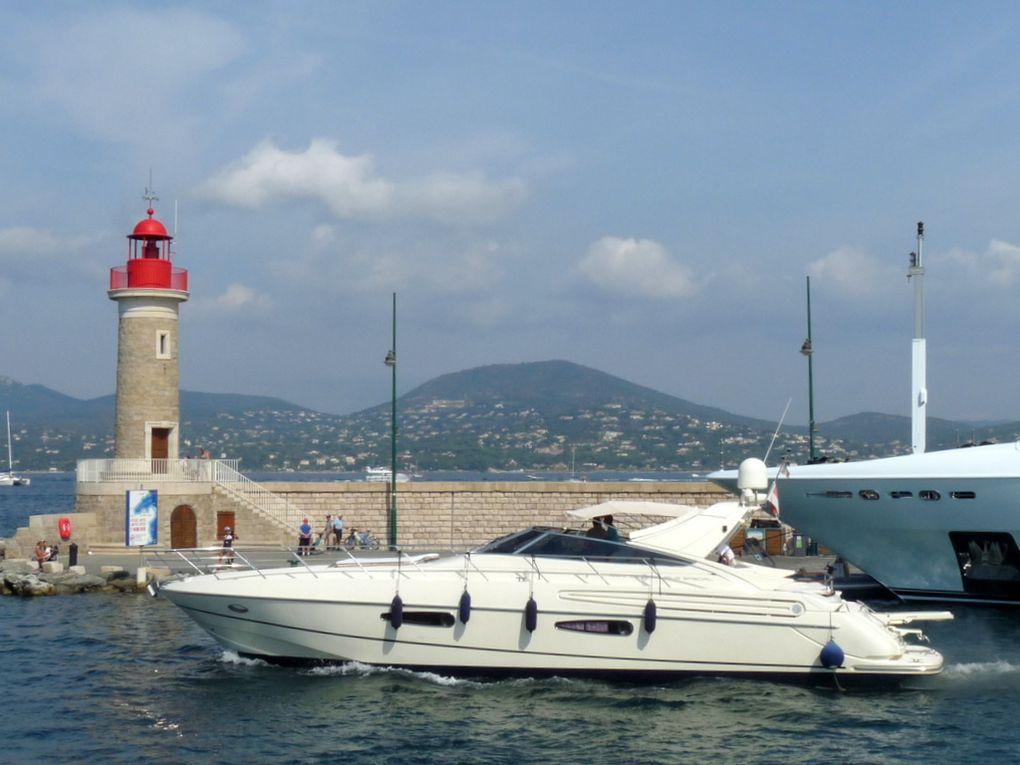 BIBI , appareillant du port de Saint Tropez le 16 aout 2016
