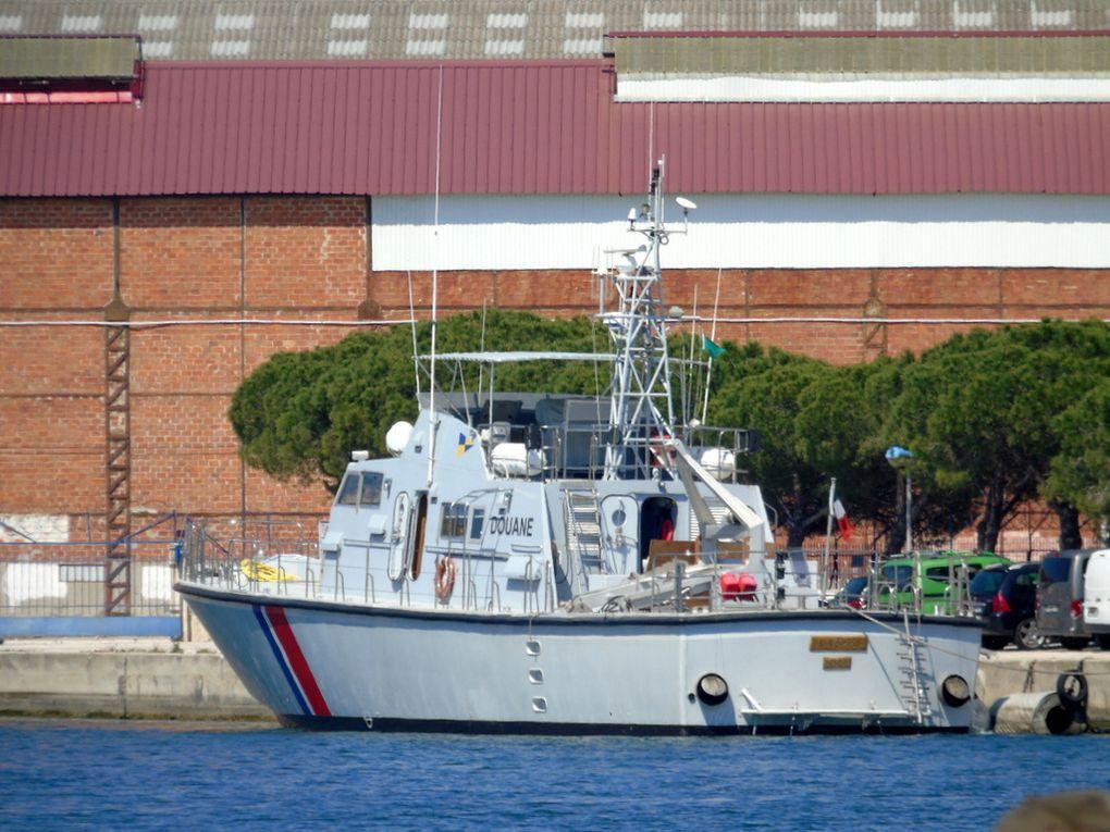 SIROCCO  DF 45 , dans le port de la Seyne sur Mer le 13 avril 2017
