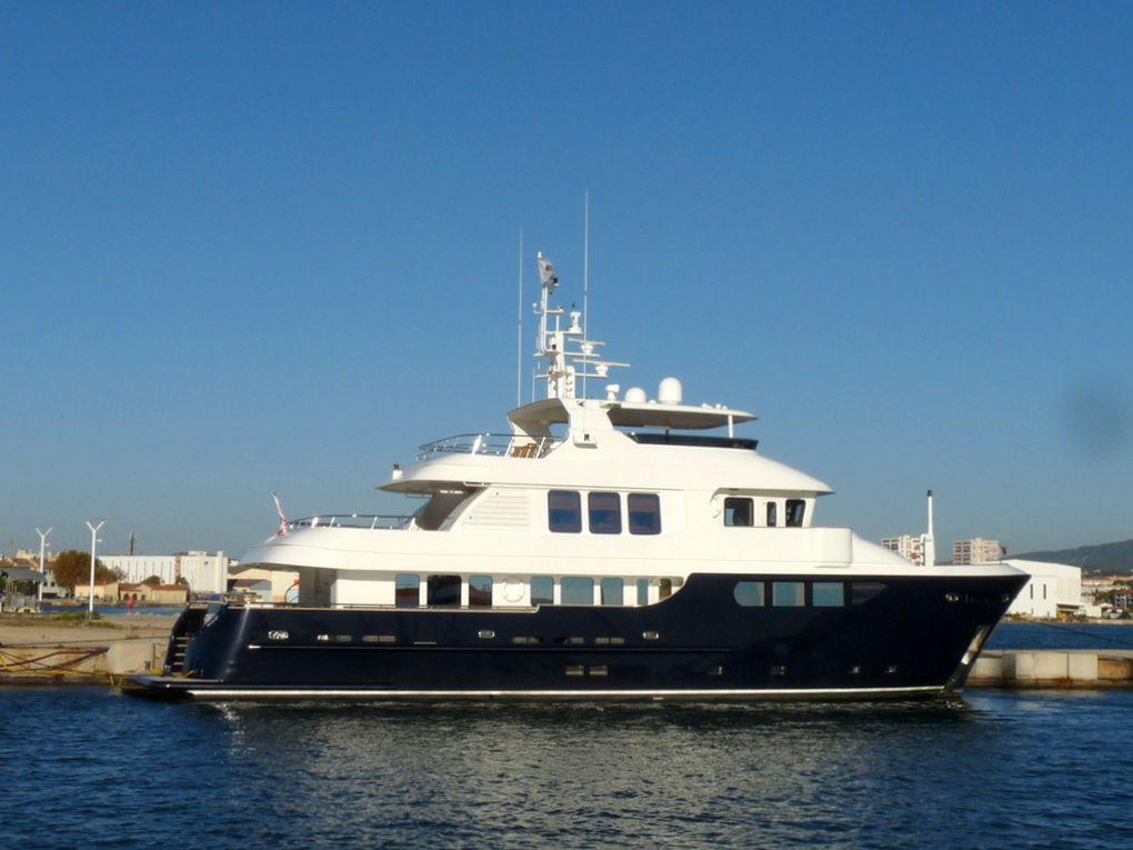 BALTIC SEA , a quai à la Seyne sur Mer le 08 octobre 2016