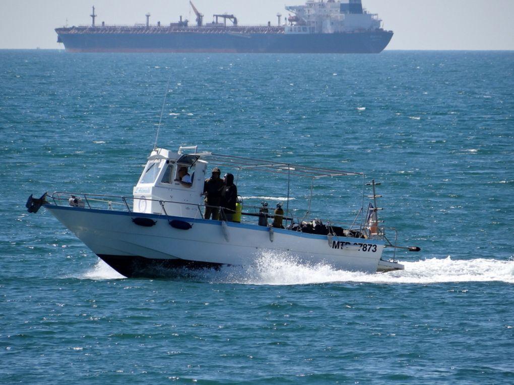 L'ADORADE , dans le gole de Fos sur Mer le 21 avril 2015