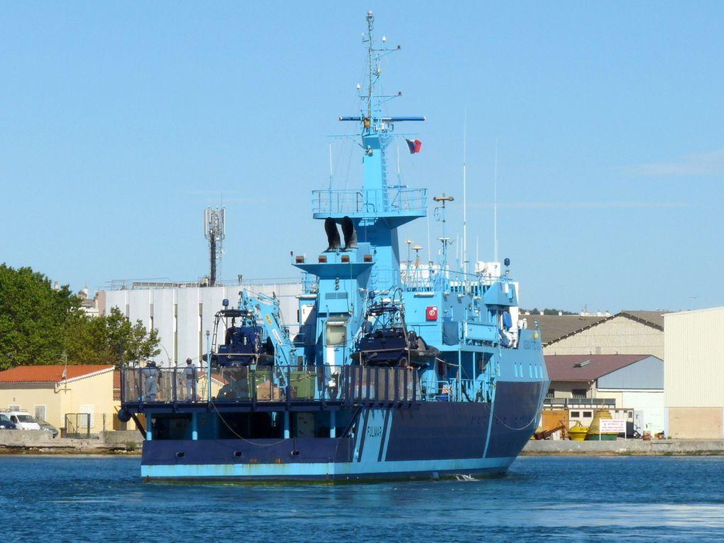 FULMAR , patrouilleur des douanes espagnole arrivant à la Seyne sur Mer le 02 juillet 2017