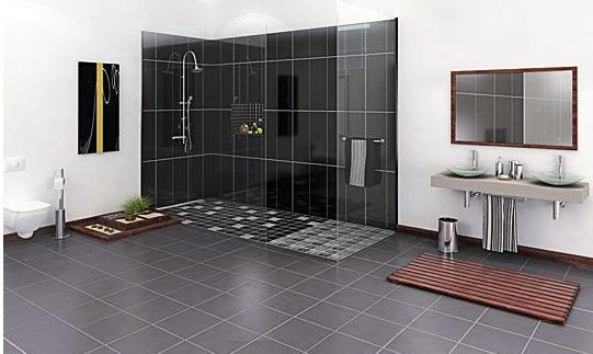 Les atouts de la douche à l'italienne !