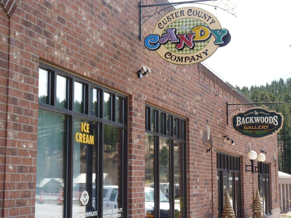 Custer City, Keystone et ses environs