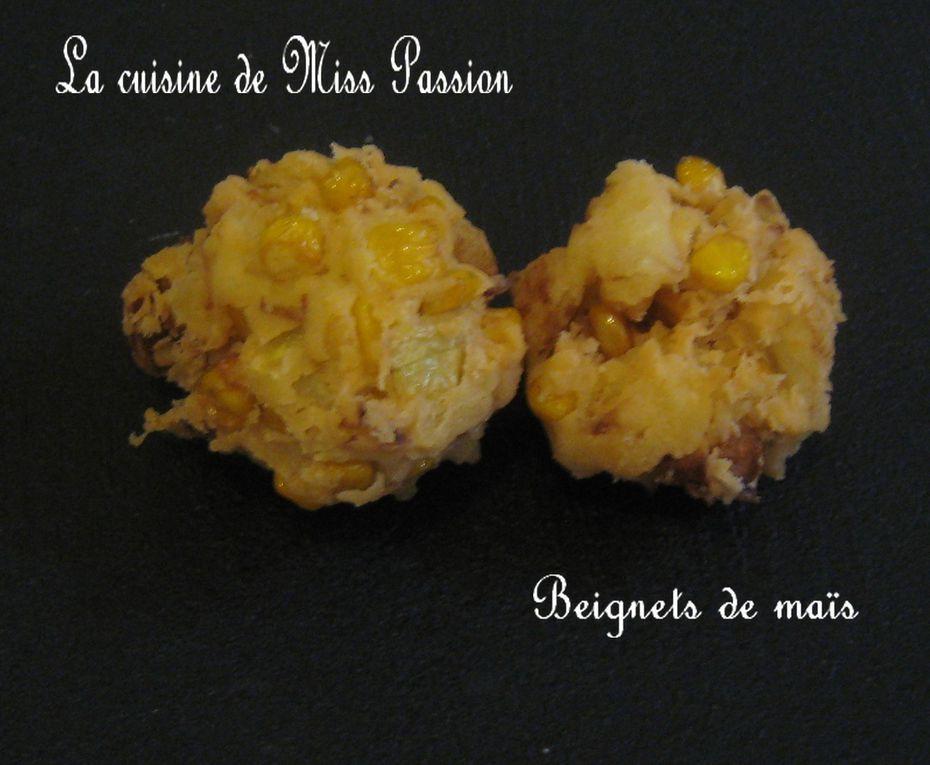 Beignets de maïs
