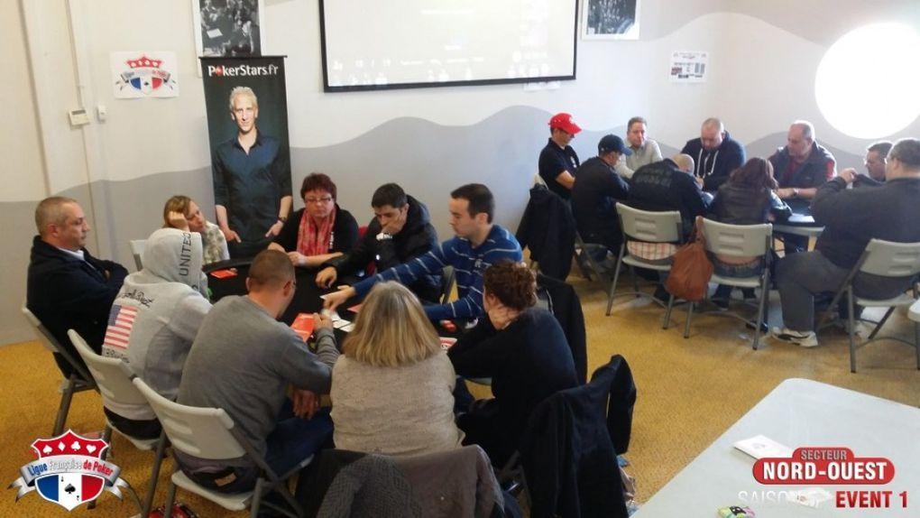 Tournoi Ligue Française de Poker à Ploermel (56)