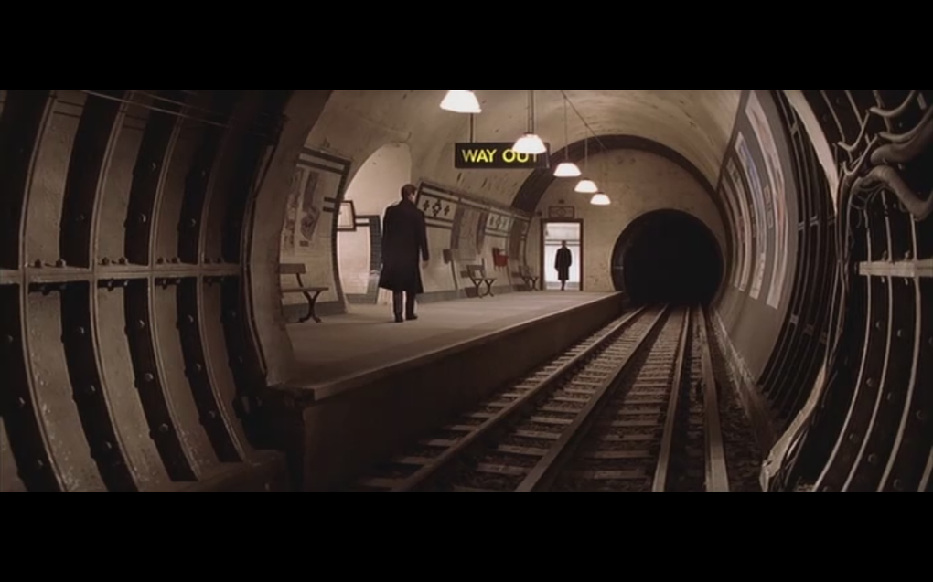 """""""An abandoned station for abandoned agents."""" !"""
