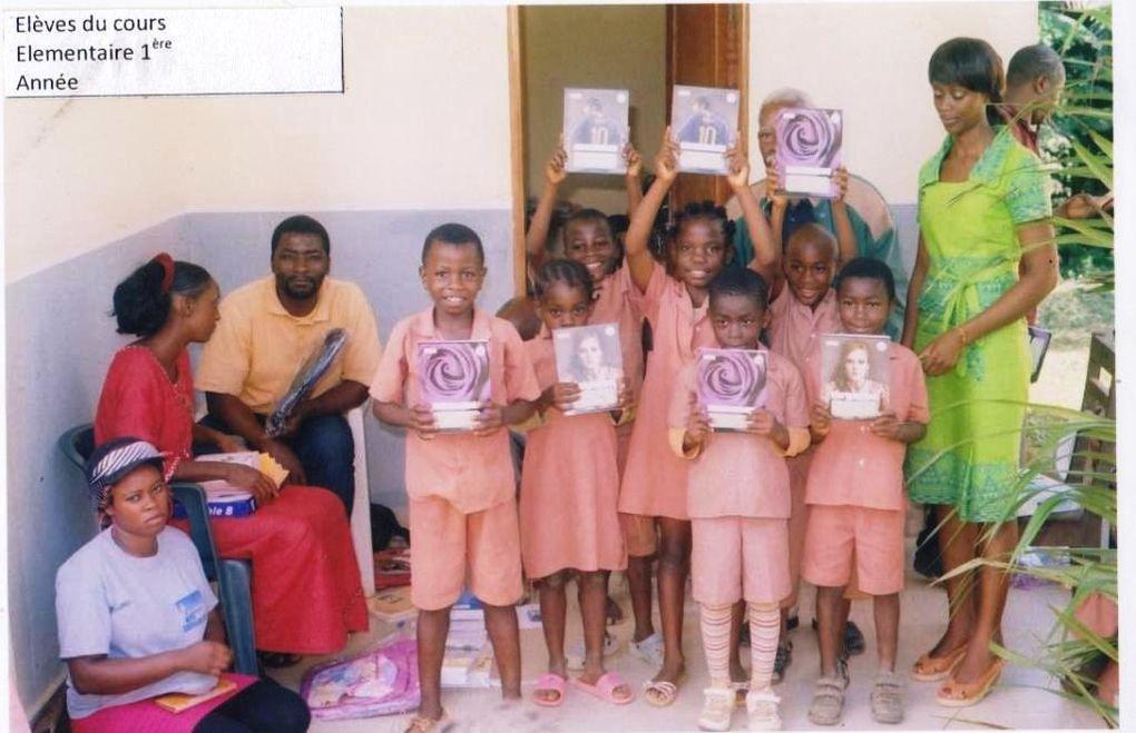 Le bonheur de ces enfants nous fait chaud au coeur