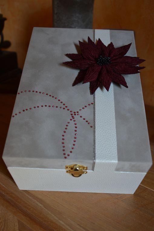 Boîte pour un anniversaire de mariage
