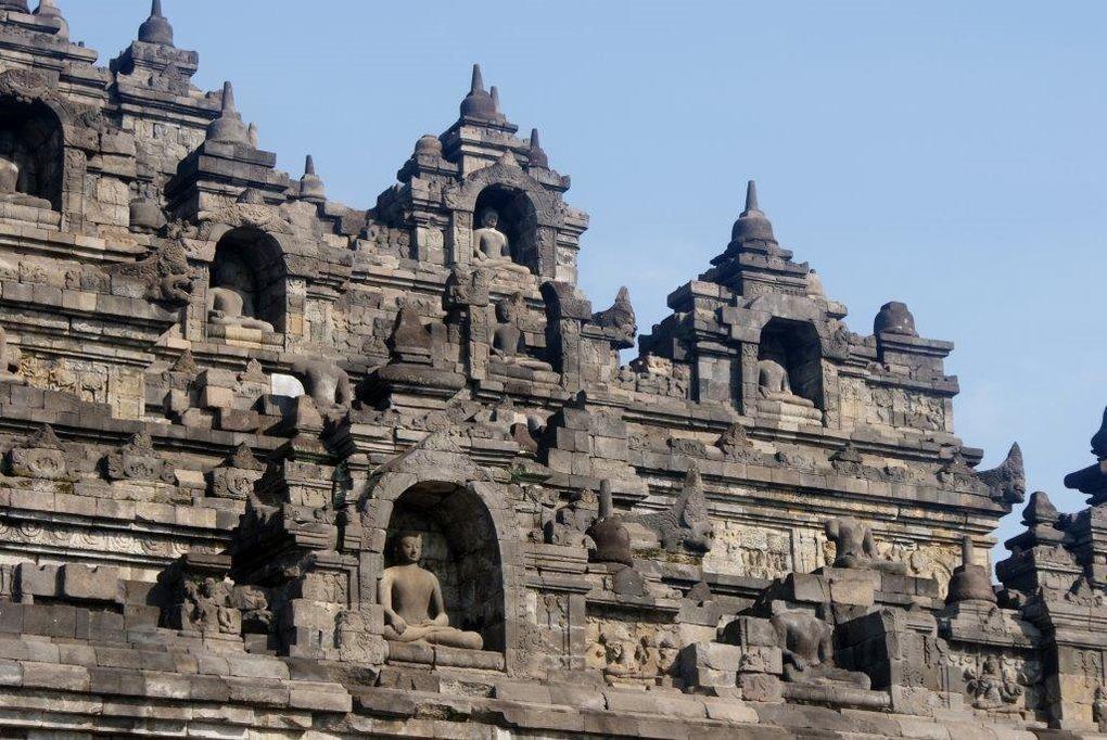 Borobudur, le site