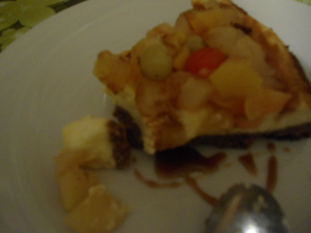 cheesecake aux fruits