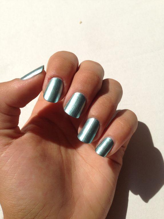 Nail art griffures