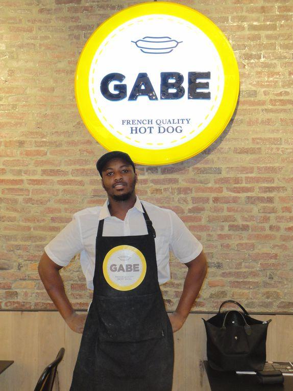 Petit aperçu de Gabe et d'un des membres de l'équipe: Demba, le super pâtissier !