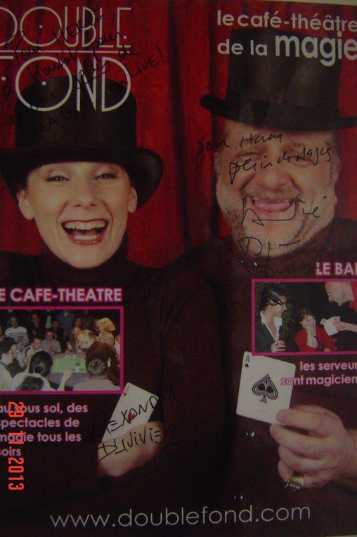 le double fond ( café théatre de la magie )  Dominique Duvivier
