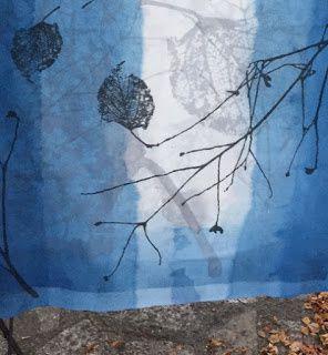 empreinte par Mapie des vignes (vert) - empreinte par Helena Sellergen (bleu)