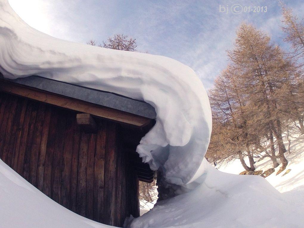 LAC D' ALLOS en HIVER - Val d'Allos - Haut Verdon