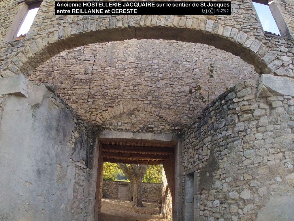 REILLANNE sur le chemin d' Arles - GR 653 -