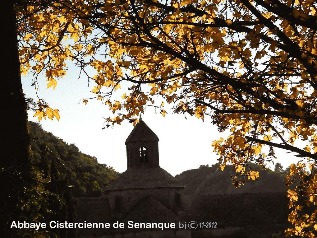 Abbaye de SENANQUE - ETAPE 9 - chapitre 2 -  randonnée transversale depuis APT par GORDES vers SENANQUE ...