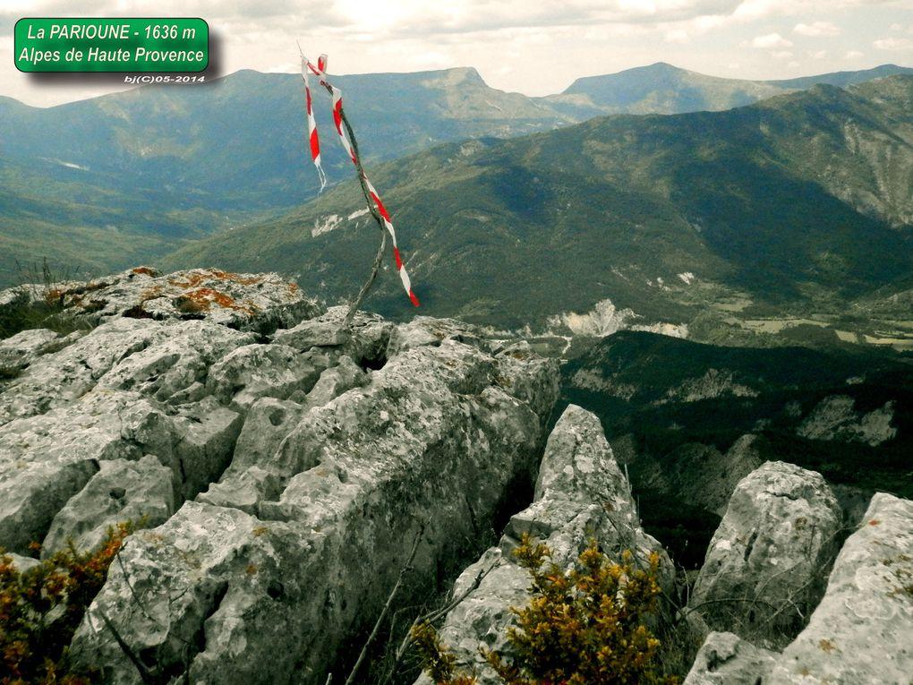 SOMMET de LA PARIOUNE - Alpes de Hte Provence