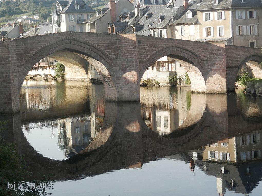 via podiensis du Puy en velay à Espalion en direction de St Jacques de compostelle