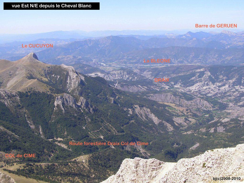 Ascension du CHEVAL BLANC depuis CHATEAU GARNIER