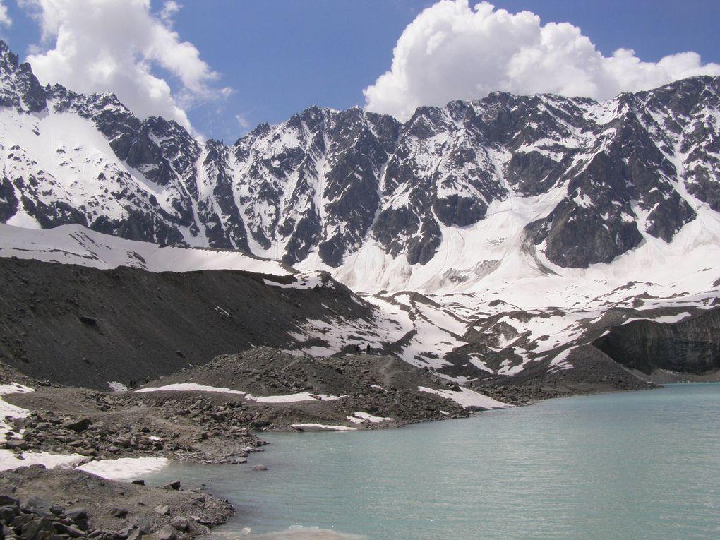 GLACIERS des ECRINS - ARSINE - et Glacier Blanc