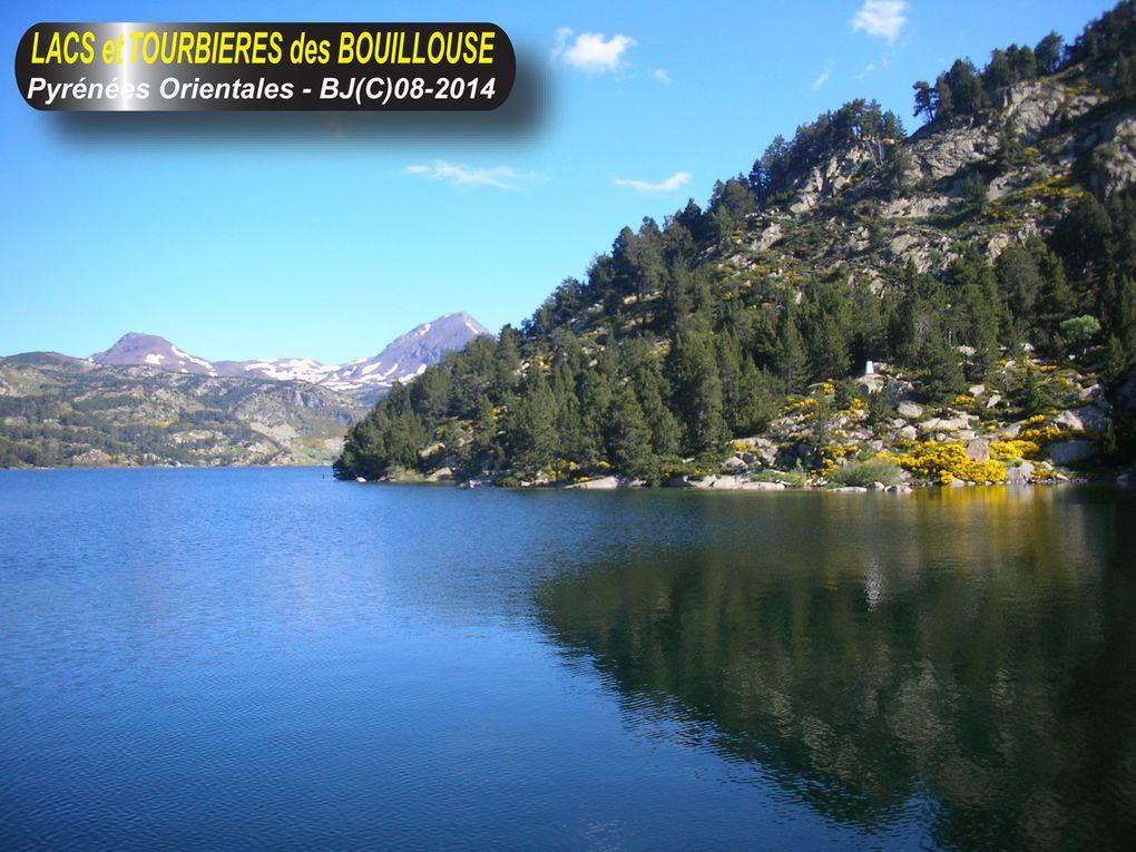 LACS et TOURBIERES des BOUILLOUSE - Pyrénées Orientales - Cerdagne -