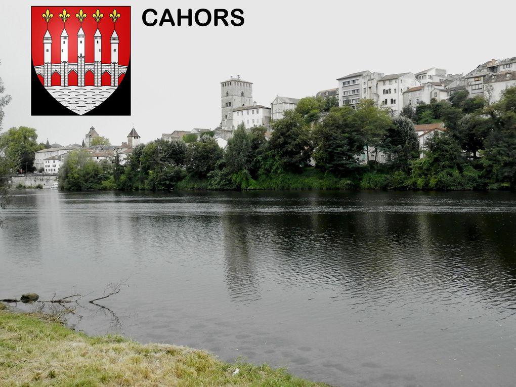 7éme Jour de PASTURAT à CAHORS - Rives du Lot - Arrivée à Cahors au fil de l'eau . . .