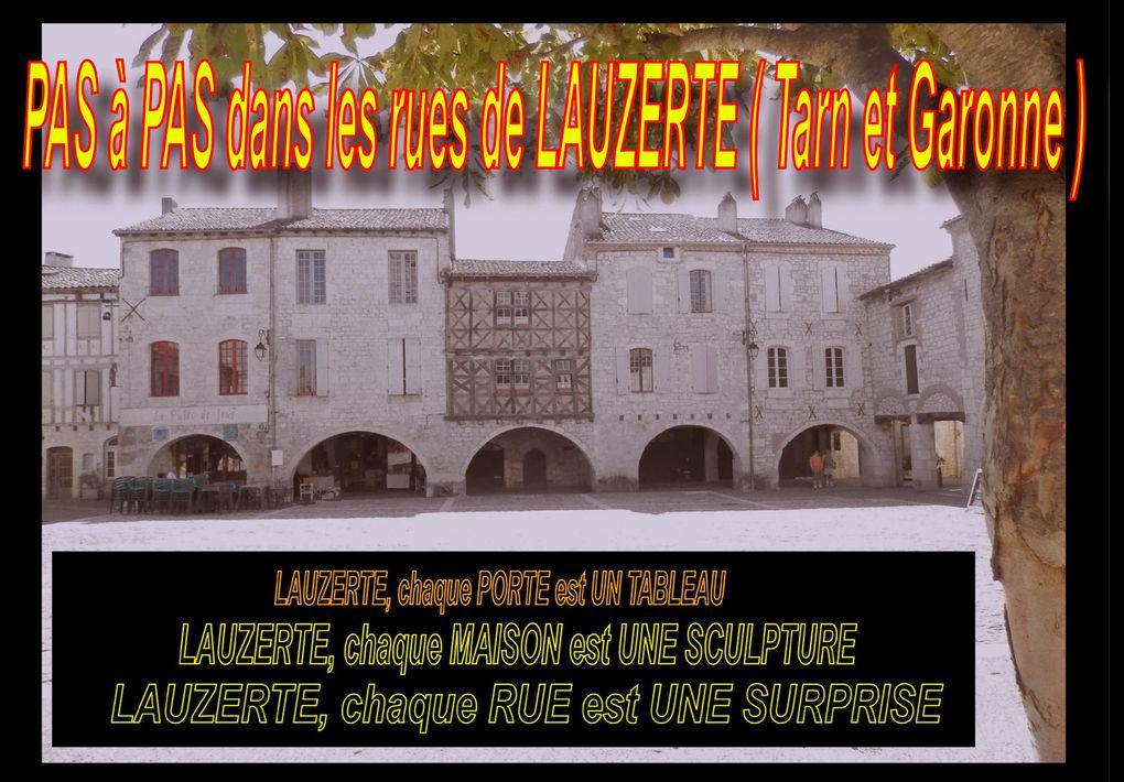 VISITE DE LAUZERTE - Terme de notre 9éme étape - nous ENTRONS en TARN et GARONNE -