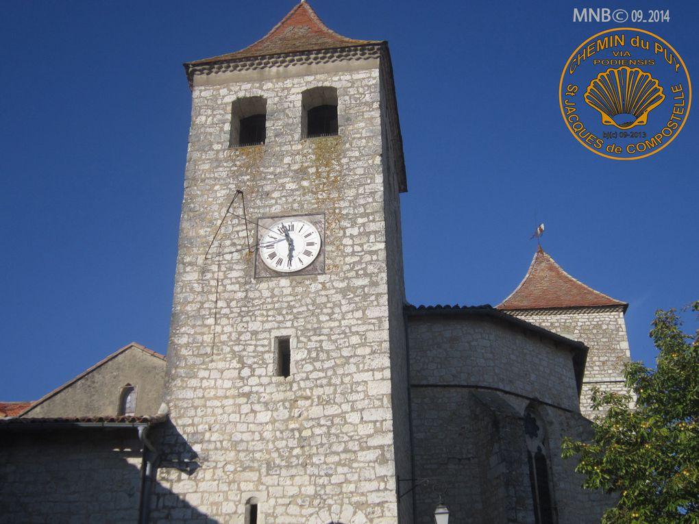 Eglise SAINT BARTHELEMY de LAUZERTE ( sur le chemin ) - DIAPORAMA SONORISABLE