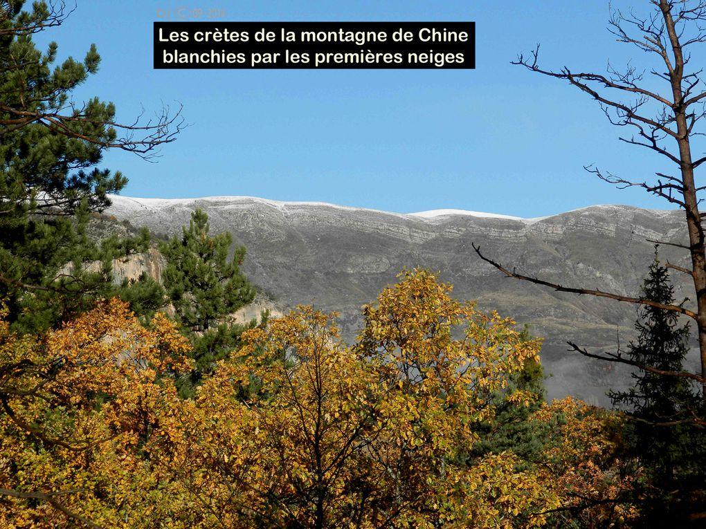 PEROUE - TANARON - ESCLANGON - AUTOMNE en val de BEZ - Alpes de Hte Provence