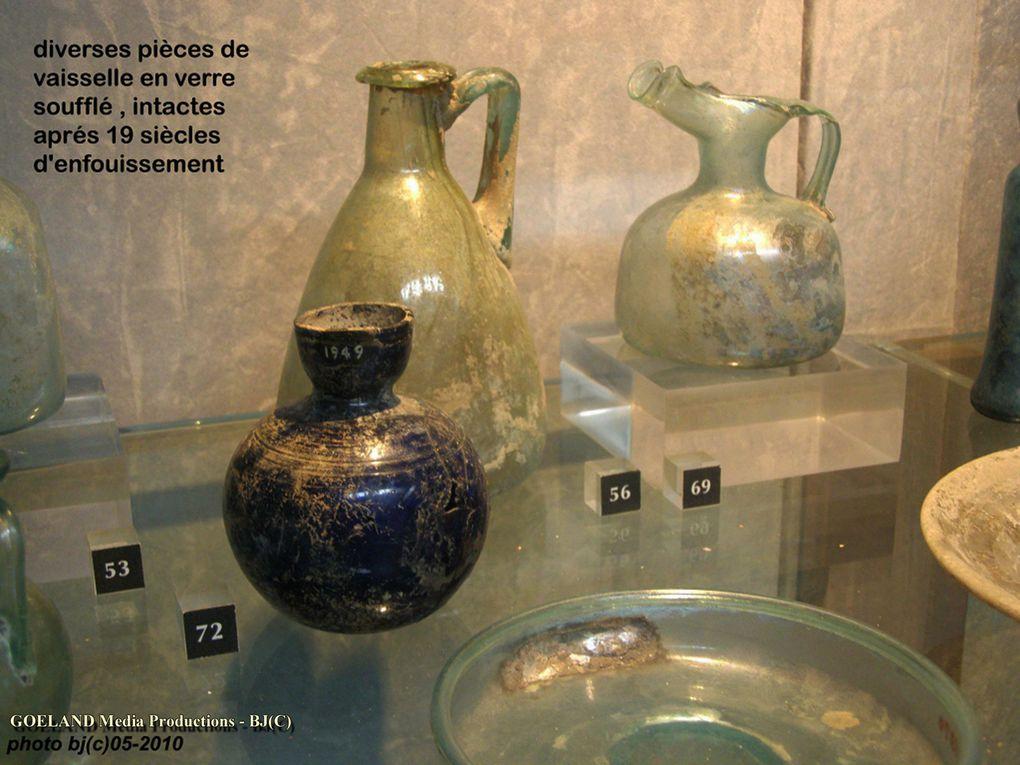 ARLES le MUSEE ARCHEOLOGIQUE - LES OBJETS de la VIE QUOTIDIENNE -