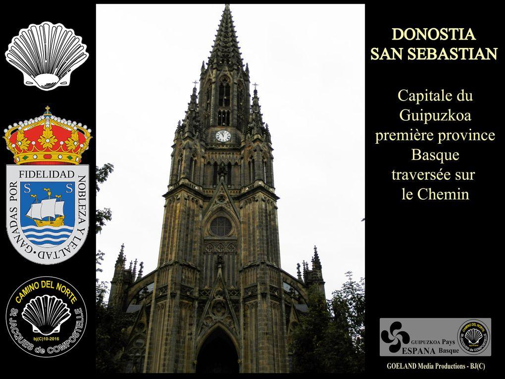 SAN SEBASTIAN - DONOSTIA capitale du GUIPUZKOA ( Euskadi - Pays Basque - Espana )