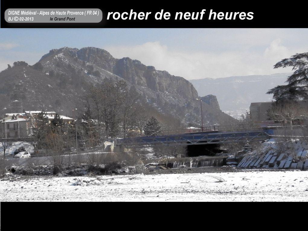 Digne-les-bains - Quartier médieval - Alpes de Haute Provence