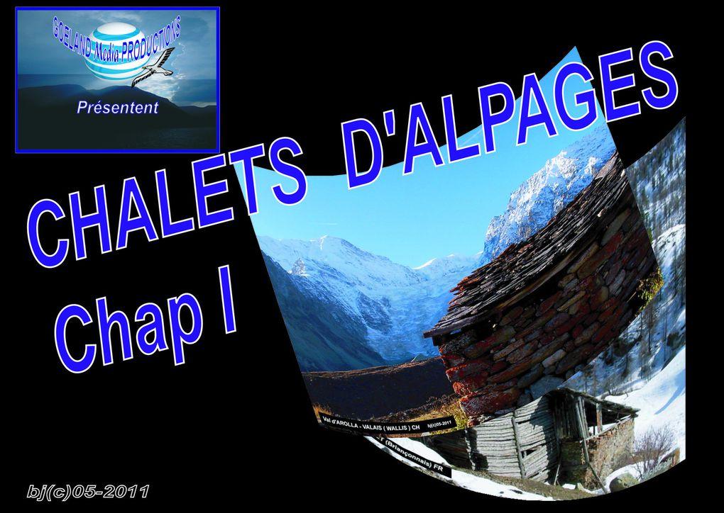 CHALETS D' ALPAGES - constructions incroyables