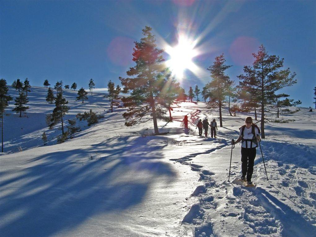 RAQUETTES sur le plateau d'Argens - 20 Janvier 2008