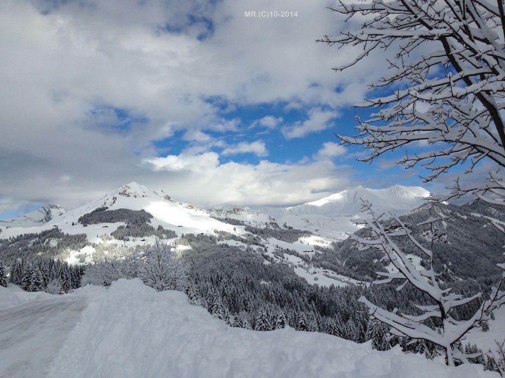 PAYSAGES D' HIVER de LA CLUSAZ ( Savoie - FR 73 )