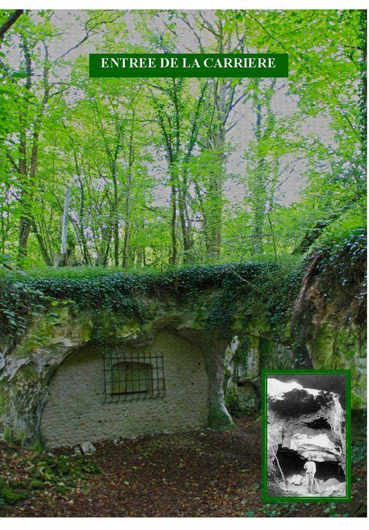 La Mansonnière(Bellou-sur-Huisne): carrière historique, site karstique, site Natura 2000 (ch. souris)