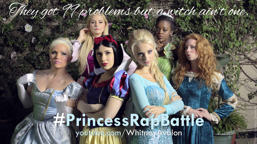 Le rap battle des princesses Disney &amp&#x3B; Star Wars
