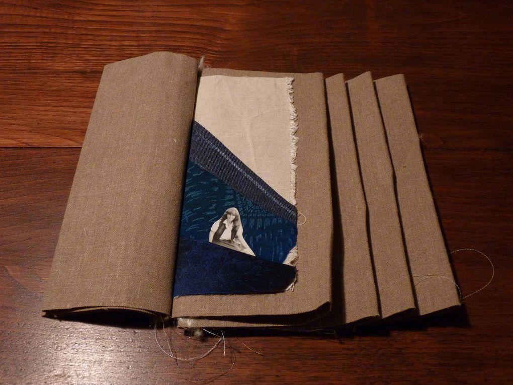 Stage Livres Textiles avec P.Goldenberg
