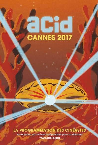 Sans oublier l'affiche de l'ACID Affiches #Cannes2017 au complet