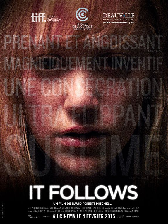 Grand Prix du Festival de GERARDMER // IT FOLLOWS de David Robert Mitchell