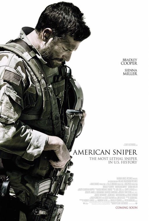 Ce soir on vous parle d' AMERICAN SNIPER
